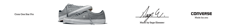 Converse Sage One Star Pro Banner_Central 728 90